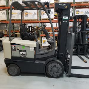 Used Crown FC 4515-50 model electric forklift truck for sale from Lift Power